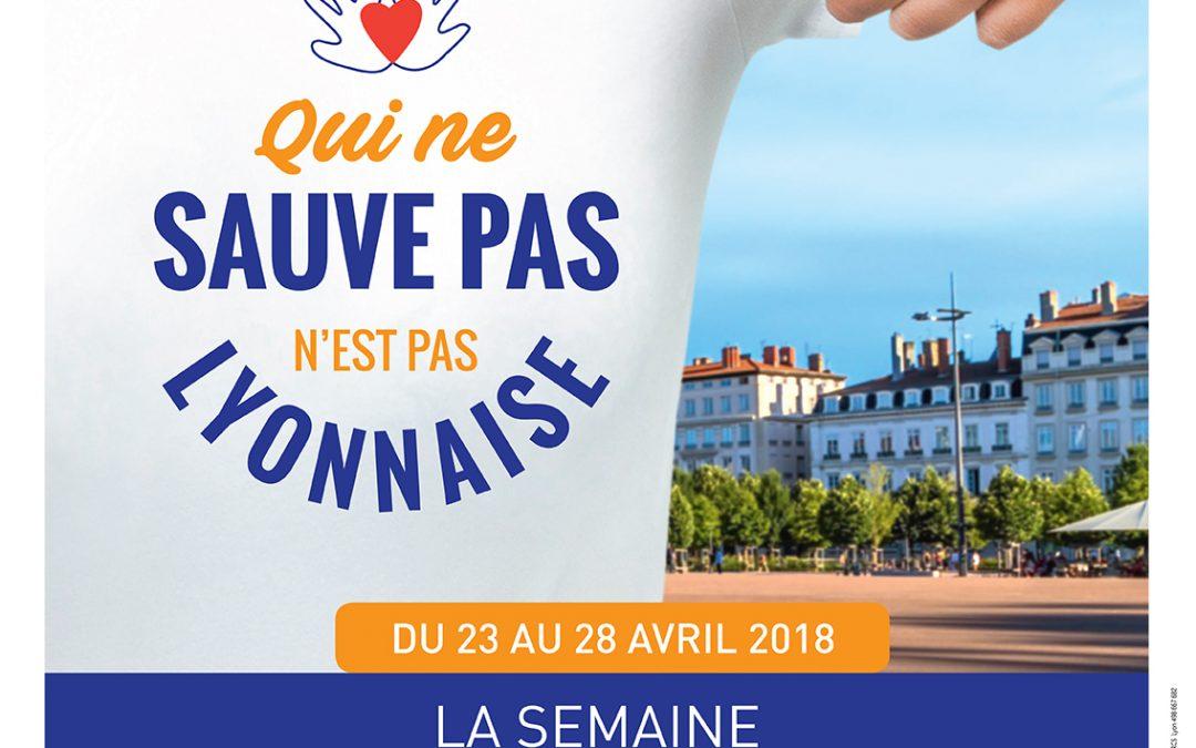 Nous serons présents le 26/04/18 pour fêter les 10 ans de l'ouverture de l'HFME, Bron (hôpital femme mère enfant) (hall de l'hôpital de 10h à 17h) Nous vous attendons pour la semaine des gestes qui sauvent le 28/04/18 de 10h à 18h place Bellecour, Lyon. Démonstration de mouchage et couchage de l'enfant en sécurité