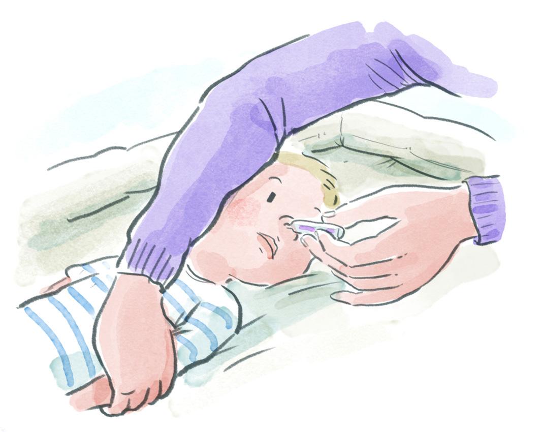 Mon enfant est gêné pour respirer - Pediasanté